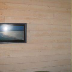 lambris bois intérieur