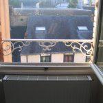 Barre d'appui de fenêtre style