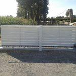 Portail de clôture motorisé
