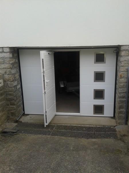 porte de garage dam menuiseries menuisier theix. Black Bedroom Furniture Sets. Home Design Ideas