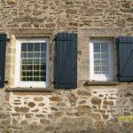 volet ALU et fenêtre PVC