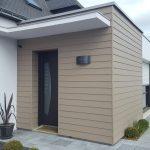 Bardage extension ciment composite